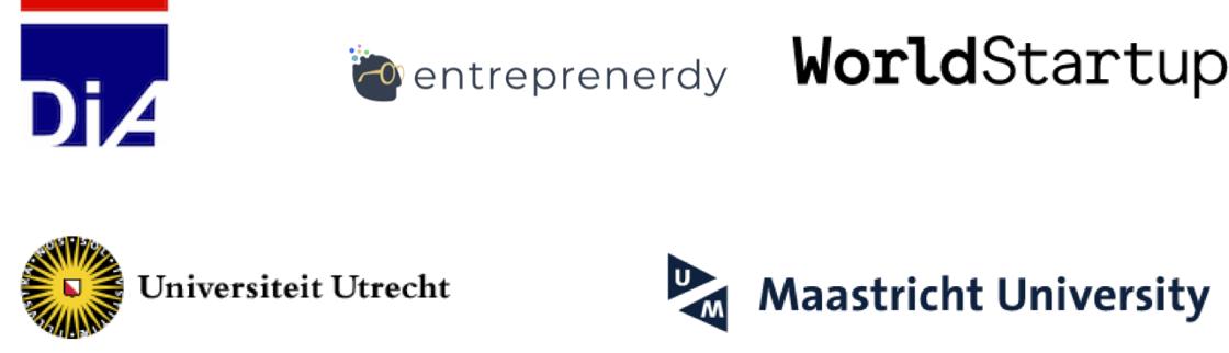 Logos bootcamp partnership Entreprenerdy